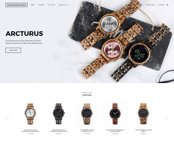 Engravedwoodenwatches.com